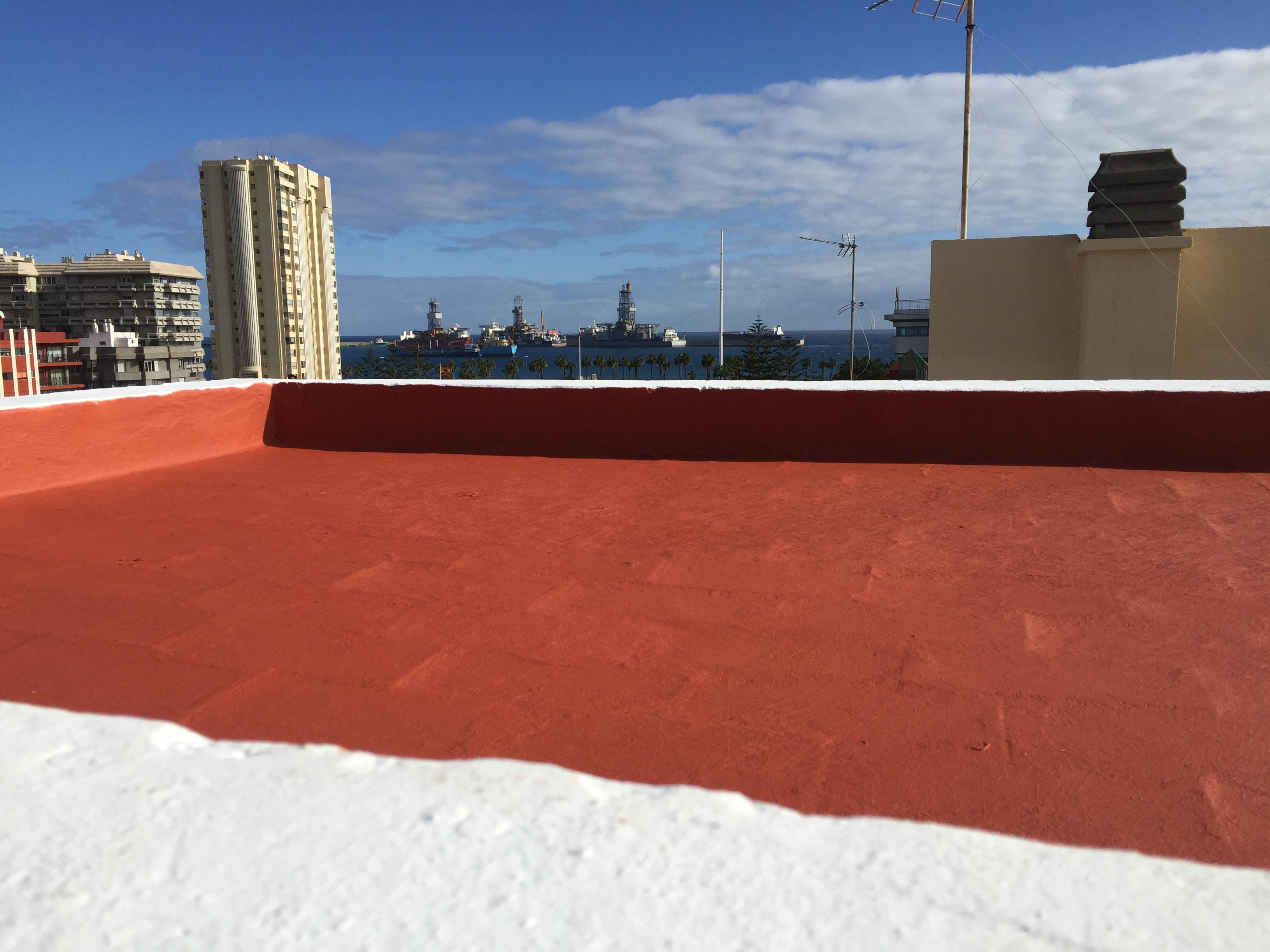 Impermeabilización en edificio en Las Palmas